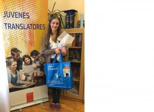 Mednarodna prevajalska nagrada nekdanji učenki naše šole Maruški Schenk za prevod iz nemščine v slovenščino